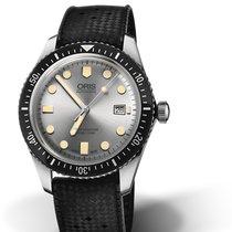 Oris Divers Sixty Five 01 733 7720 4051-07 4 21 18 Oris SIXTY-FIVE Argento Nero new