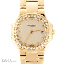 Patek Philippe Nautilus Lady 4700 / 053 Gold Diamonds  1990...