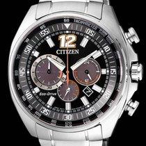 Citizen Stahl 44,4mm Quarz CA4198-87E CITIZEN CRONO RACING 4198 Acciaio 44,4 neu