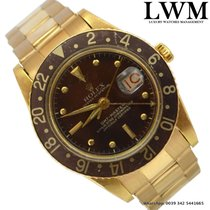 Rolex GMT Master 6542 yellow gold Full Set very rare 1958's