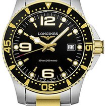 Longines L3.740.3.56.7 L37403567 Gold/Steel 2021 HydroConquest 41mm new United States of America, New York, Airmont