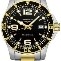 Longines HydroConquest Gold/Steel 41mm Black United States of America, New York, Airmont