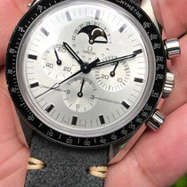 Omega Speedmaster Pro Moonphase  ApolloXI 30th Anv White Gold