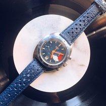 Heuer Cronografo 43mm Manuale 1970 usato Blu