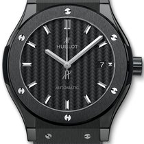 Hublot Classic Fusion 45, 42, 38, 33 mm Ceramic 45mm Black No numerals