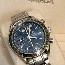 Omega 3222.80.00 Speedmaster Mens Day-Date 38 Blue dial watch