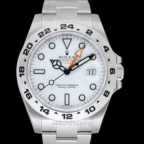 Rolex Explorer II Steel 42mm White