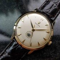 Rolex Mens 14K Yellow Gold Optimist International c.1960...