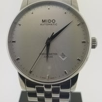 Mido Baroncelli Steel 42mm Silver No numerals United States of America, Alabama, Oranjestad