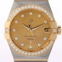 Omega Constellation Men Ocel 38mm Šampaňská barva