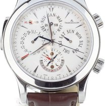 Jaeger-LeCoultre Master Grand Réveil Steel 43mm White United States of America, Illinois, BUFFALO GROVE