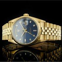 Rolex Day-Date 36 Gelbgold 36mm Blau Keine Ziffern Deutschland, Berlin