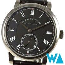A. Lange & Söhne Richard Lange White gold 40.5mm Black Roman numerals