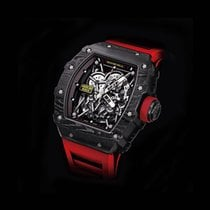 Richard Mille RM 035 Carbono 49.94mm Transparente Sin cifras