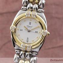 Chopard Gstaad Gold/Stahl 24.5mm Weiß Deutschland, Chemnitz