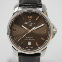 Certina DS Podium Сталь 38mm Cерый