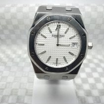 Audemars Piguet Royal Oak Jumbo Acero 39mm Blanco Sin cifras