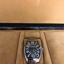 Franck Muller Casablanca Steel 32mm Black Arabic numerals