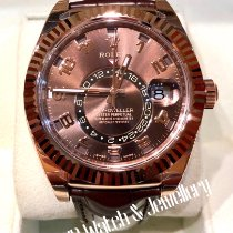 Rolex Sky-Dweller Red gold 42mm Brown Arabic numerals Singapore, singapore