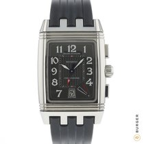 Jaeger-LeCoultre Reverso (submodel) Steel 27mm Grey Arabic numerals
