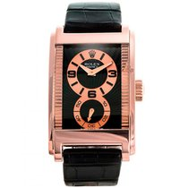Rolex Cellini Prince Rose gold 47mm Black