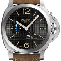 Panerai Luminor 1950 3 Days GMT Power Reserve Automatic new 2020 Automatic Watch with original box and original papers PAM01537