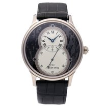 Jaquet-Droz Grande Seconde White gold 43mm Black Roman numerals United States of America, Pennsylvania, Bala Cynwyd