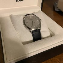 Montblanc Heritage Chronométrie Steel 38mm Silver Roman numerals United States of America, California, Los Angeles