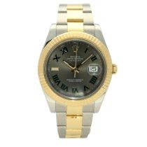 Rolex Datejust II Gold/Steel 41mm Grey Roman numerals United Kingdom, Liverpool
