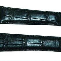 Rolex Daytona 20MM Genuine Black Crocodile Leather Strap...