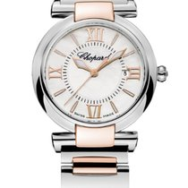 Chopard Imperiale 28mm 18K Rose Gold Mother Of Pearl Dial T