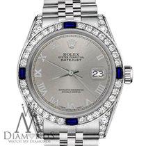 Rolex Lady-Datejust Steel 26mm Grey Roman numerals United States of America, New York, New York