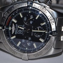 Breitling A44359 Steel Blackbird 44mm pre-owned United States of America, New York, Greenvale