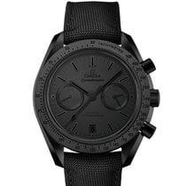 Omega Céramique Remontage automatique Noir Sans chiffres nouveau Speedmaster Professional Moonwatch