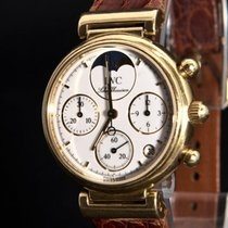 IWC Da Vinci Perpetual Lunar Calendar Moonphase Chronograph 18K