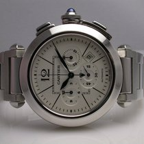 Cartier Pasha W31089m7 Chronograph Stainless Steel Automatic...
