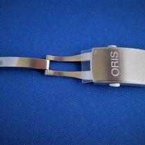 Oris Genuine 18mm Stainless Steel Deployment Men's Buckle New...