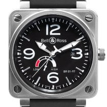 Bell & Ross BR 01-97 Réserve de Marche new 2019 Automatic Watch with original box and original papers BR0197-BL-ST