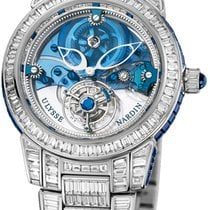 Ulysse Nardin Royal Blue Tourbillon Платина 43mm Прозрачный