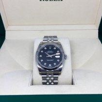 Rolex Datejust 36mm black Diamond