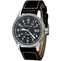 Hamilton Khaki Field H70625533 HAMILTON KHAKI FIELD Nero Marrone 44mm new