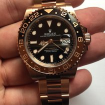 """Rolex 126715CHNR GMT-Master II Full Rose Gold """"Rootbeer"""""""