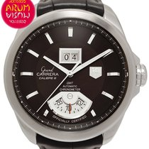 TAG Heuer Grand Carrera Staal 42,5mm Bruin