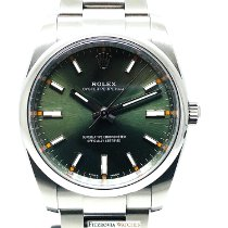 Rolex Oyster Perpetual 34mm 114200 Olive green dial