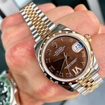 Rolex Lady-Datejust 31mm Brun