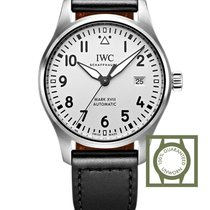 IWC Pilot's Watch Mark XVIII Automatic White Dial Black...
