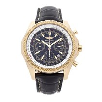Breitling Bentley Motors pre-owned 49mm Yellow gold
