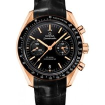 Omega Red gold Automatic Black No numerals 44,25mm new Speedmaster Professional Moonwatch