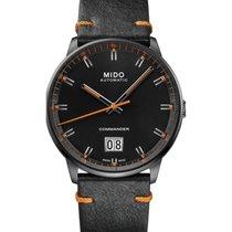 Mido Commander Steel 42mm Black No numerals