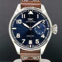 IWC Big Pilot Steel 46mm Blue United States of America, New York, New York